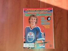 Wayne Gretzky Hockey Edmonton Oilers Sports Illustrated October 12, 1981