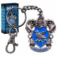 Harry Potter Hogwarts Ravenclaw House Crest Metal Keychain Keyring - Boxed
