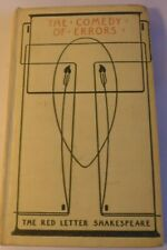 Antique The Red Letter Shakespeare Book - THE COMEDY OF ERRORS - Talwin Morris.
