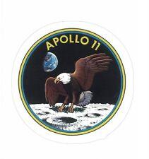 "APOLLO 11 STICKER ~ Moon Landing Space Program Logo 3"" U.S. NASA    * NEW *"
