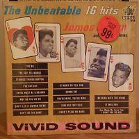 James Brown Vinyl LP 16 Unbeatable Hits Original Black Label King in Shrink