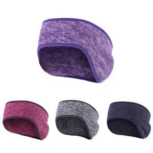 Fleece Ear Protection Headband Winter Hairband Forehead Riding Warm Earmuff