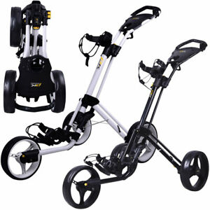PowaKaddy Twinline 4 TL4 Push Cart Three Wheel Golf Trolley / NEW 2021