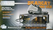 Uniden Bearcat 980 SSB CB Radio with 7 Color Display Brand New