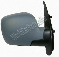 RENAULT KANGOO 2008- Electric Side Mirror adjustable heated convex primed RIGHT