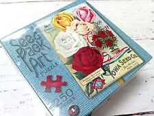 Seed Pack Art Puzzle 36th Annual Catalogue 250 Piece Jigsaw Puzzle New