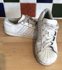 Adidas Men's Originals Superstar Shelltoe Trainers UK 2 EU 34 White B23655
