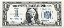 """$1.00 Silver Certificate """"Funny Back"""" Series 1934 Choice Very Fine Folded"""
