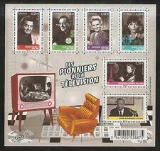 2013 Bloc N° 4811 PIONNIERS DE LA TELEVISION  NEUF**LUXE