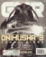 GMR June 2004 Onimusha 3 Demon Siege w/ML VG 070816DBE2