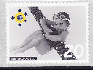 Australia Cinderella Australians No 6 Mint Peel & Stick