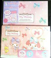 SANRIO My Melody Letter set 8 letter paper 4 envelop 4 sticker