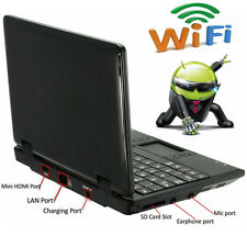 "CHEAP 7"" Android Mini Notebook 8GB Laptop Netbook Keyboard Quad Core WIFI Camera"