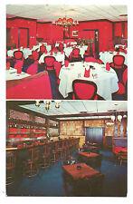 Vintage Rutland, VT Postcard The New Fairmont Restaurant Vermont