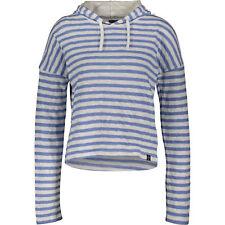 SUPERDRY Womens' Stripe Pier Hoodie, Dutch Blue Marl, size XL