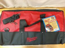 """Milwaukee•48-55-3530•24-1/2""""Lx13""""Wx14""""H•Heavy-Duty Contractor Bag•Free Ship•New!"""