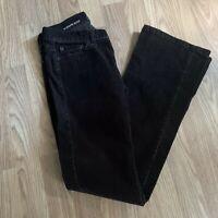 LOFT Womens Corduroy Pants Sz S Brown Modern Boot  TR30