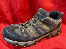 EDDIE  BAUER .. Suede Sneakers Hiking Shoes .. Brown Gray .. Men's Size 8 .. NEW