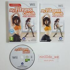 My Fitness Coach: Dance Workout [Wii] - COMPLETE -Home exercise dancing keep fit
