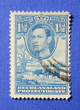 1938 BECHUANALAND PROTECTORATE 1 1/2d SCOTT# 126 S.G.# 120 USED          CS20550