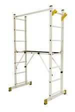 Multifunktionsgerüst: Gerüst, Anlegeleiter, Schiebeleiter und Stehleiter
