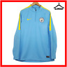 Manchester City Football Jumper Nike L Large Soccer Training Top MCFC 2017 2018