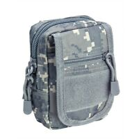 VISM CVSUP2934D ACU DIGITAL Accessory Tactical Modular MOLLE Small Utility Pouch