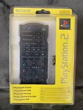 ❤️RARE Official Genuine Original Sony PS2 DVD Remote Control New Factory Sealed