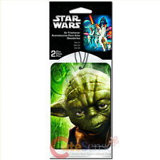 Star wars Yoda  2pc Car Auto Hanging Air Freshener Auto Accessories