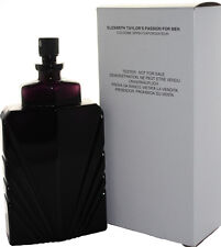 PASSION BY ELIZABETH TAYLOR 4.0 OZ EDC SPRAY TESTER FOR MEN NEW IN TESTER BOX