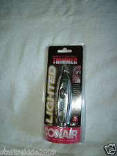 CONAIR MEN'S LIGHTED NOSE & EAR WET/DRY TRIMMER,CORDLESS, BATTERY OPERATED, NEW