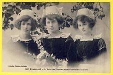 cpa FOUESNANT (Finistère) La REINE des POMMIERS et ses DEMOISELLES d'Honneur