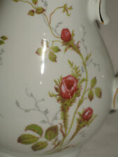 Vintage Traditional Coffee Pot with Floral Decoration