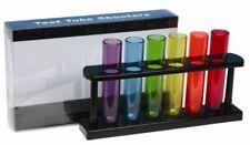 TEST TUBE SHOOTERS SHOT GLASSES 6 colors