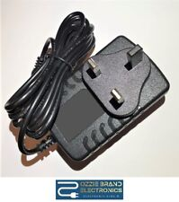 UK 12V AC/DC POWER SUPPLY ADAPTER COMPATIBLE FOR YAMAHA PIAGGERO NP11 KEYBOARD