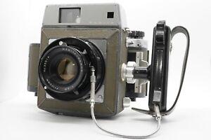 [ EXC + 5] Mamiya Press Frühe Modell 6x9 Kameragehäuse W / Sekor 100mm F/3.5 Mf