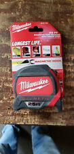 Milwaukee 48-22-7125 25ft Magnetic Tape Measure