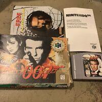 N64 GoldenEye 007 (Nintendo 64, 1997) Complete