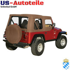 Softtop, Verdeck Jeep Wrangler TJ 1997/2006 No Spice denim