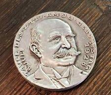 German Karl Goetz Medal Medallion coin Graf Zeppelin airship christening 1928