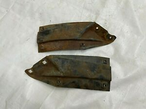 1967 1968 1969 Camaro Fender Inner Wheel Well Braces Brackets Pair Firewall