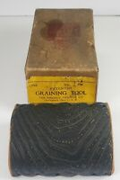 Vintage Wood Graining Tool Ridgley Trimmer Co Original Box Springfield, Ohio