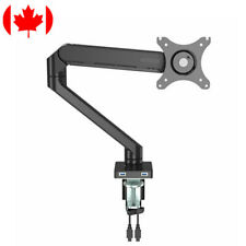 """Fully Adjustable Monitor Mount Stand Desk Mount (17""""-30"""") With Dual USB Ports"""