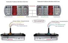 LED Rückleuchten Set Heckleuchte 12 V für PKW Anhänger Rücklicht Leuchten