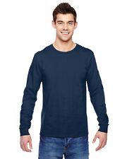 Fruit of the Loom Adult 4.7 oz 100%25 Sofspun Cotton Long Sleeve Tshirt SFLR S-3XL