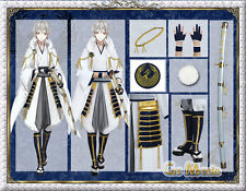 Japan anime The Sword Dance touken ranbu Tsurumarukuninaga  cosplay deluxe set