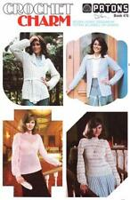Patons Crochet Contemporary Vests Patterns