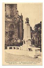 saint-quentin le monument de quentin de la tour