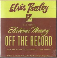ELVIS PRESLEY OFF THE RECORDS BOX 5 CDS BOOKLET 16 PAGES +130 TRACKS SEALED RARE