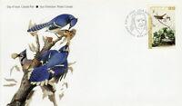 CANADA #2040 80¢ JOHN JAMES AUDUBON'S BIRDS LINCOLINS SPARROW FIRST DAY COVER
